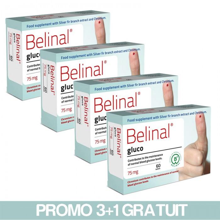 Belinal Gluco 3+1 Gratuit, Abies Labs