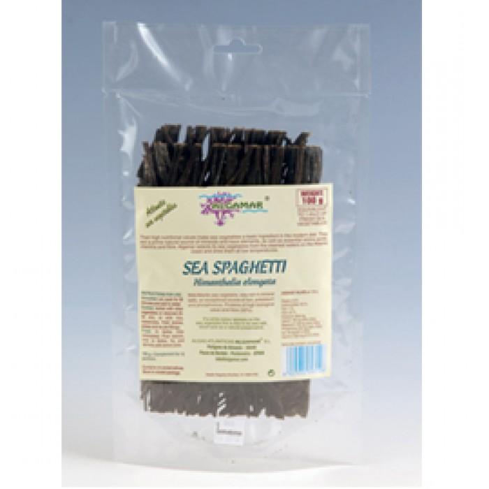 Spaghetti integrale cu alge marine bio (250g)
