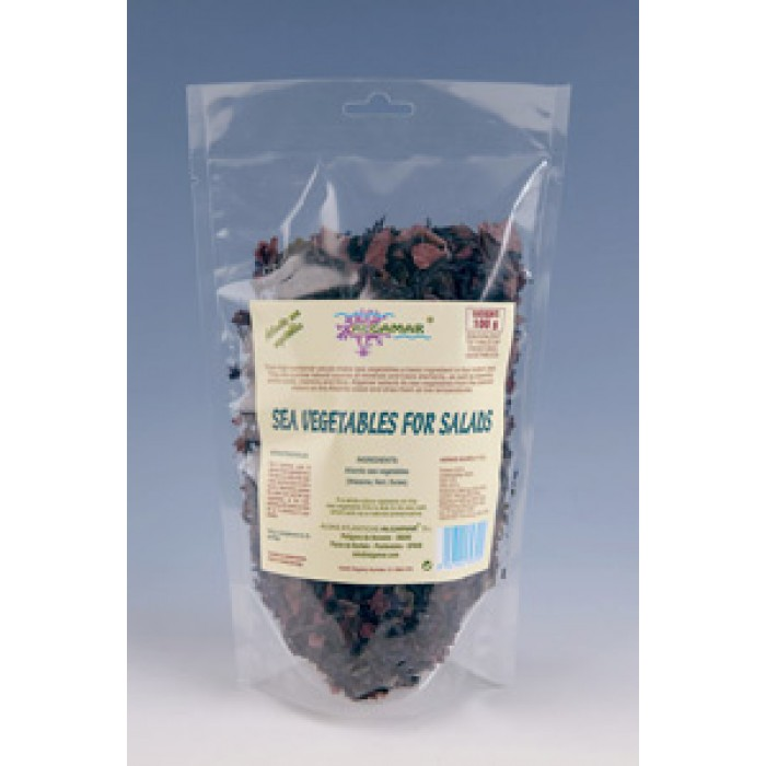 Mix alge marine pentru salate (nori, dulse, wakame) (100g)