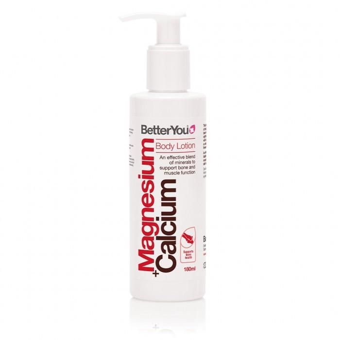 Magnesium + Calcium Body Lotion (180 ml), BetterYou
