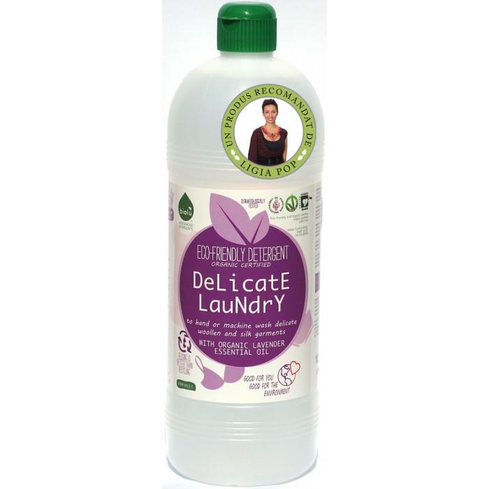 Detergent ecologic lichid pentru hainutele copiilor si rufe delicate, Biolu (1 litru)