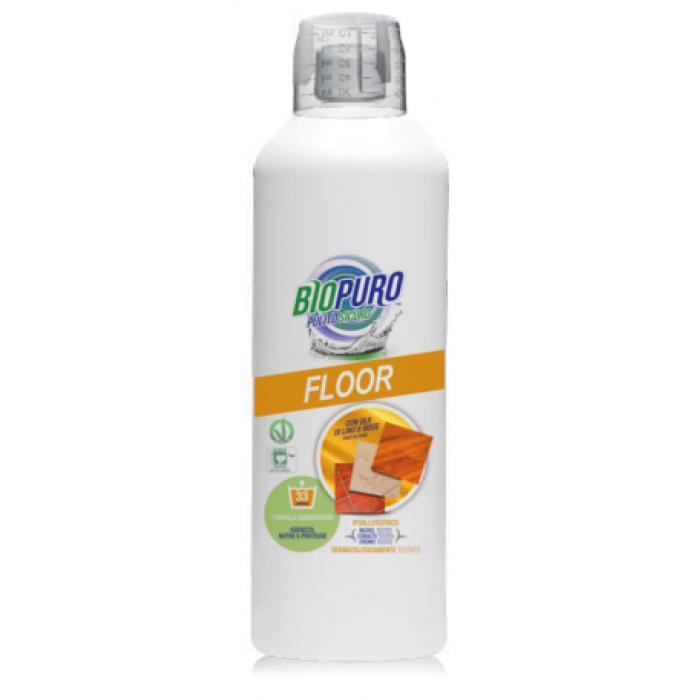 Detergent hipoalergen pentru pardoseli bio (1 litru)