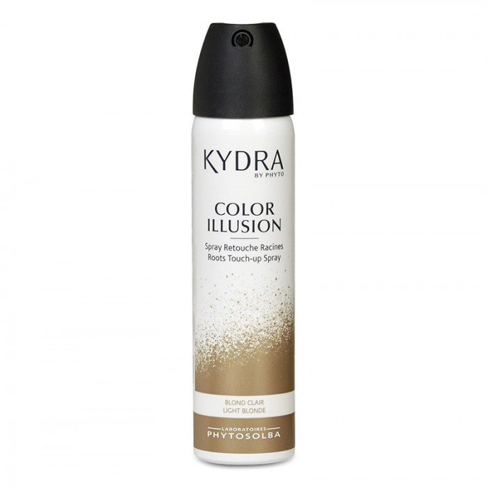 Spray pentru corectia radacinilor Color Illusion Blond deschis (75 ml), Laboratoarele Ducastel
