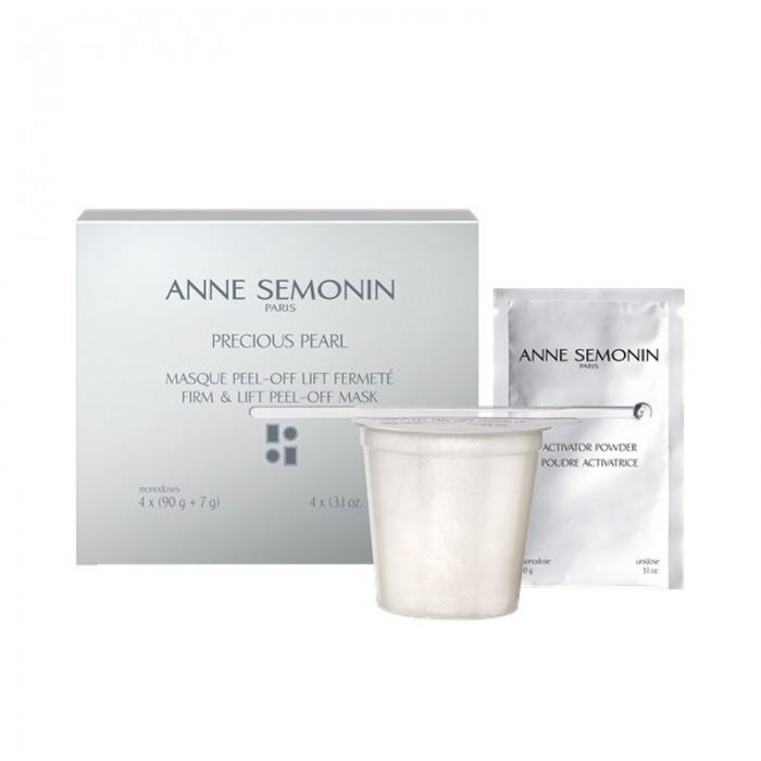 Peel Off Firming Mask (4buc x (90g + 7g)), Anne Semonin