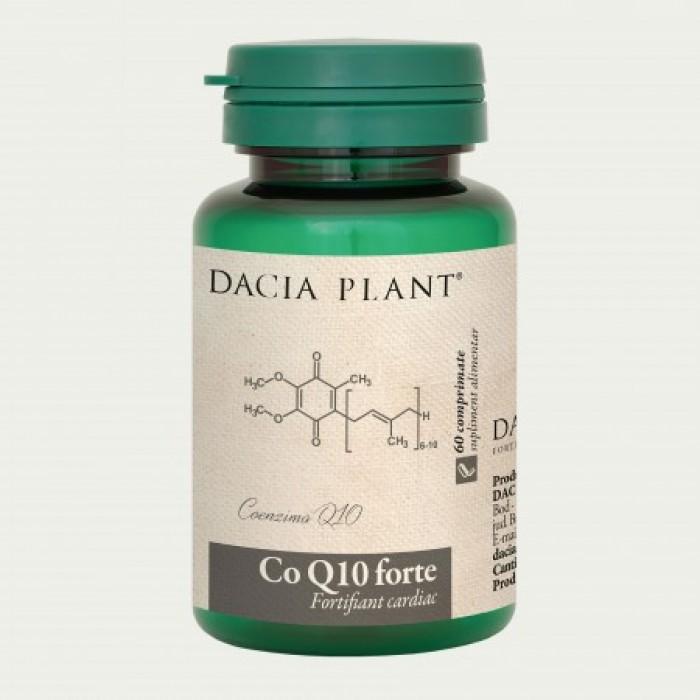 Coenzima Q10 forte (60 comprimate), Dacia Plant