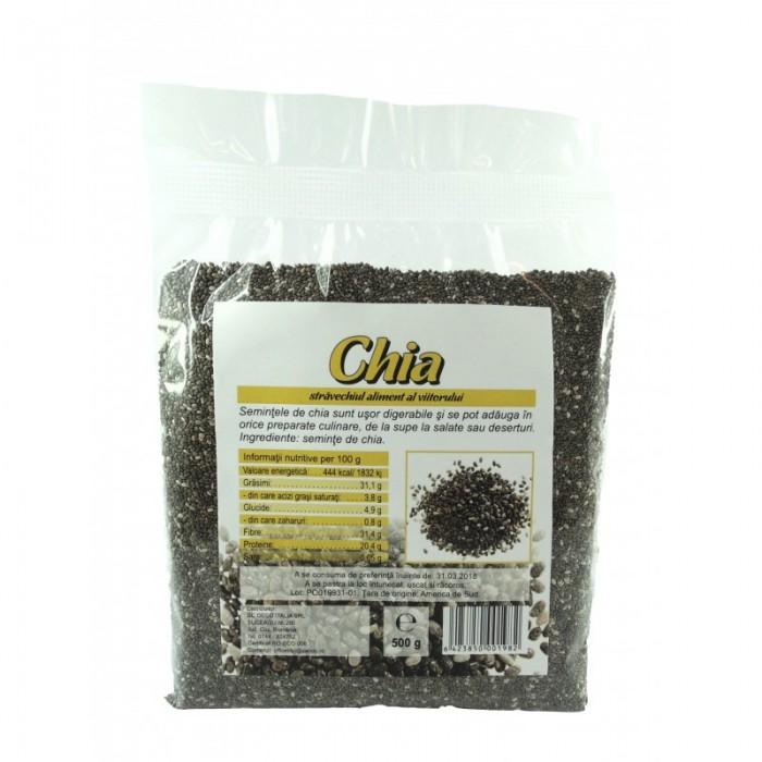 Seminte de chia bio (1 kg)