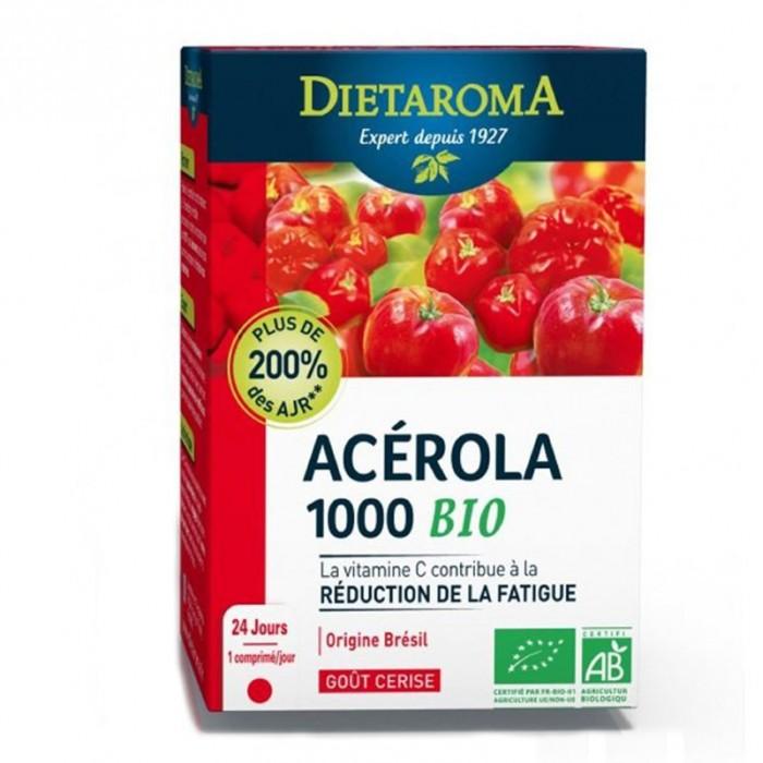 Acerola 1000mg (24 comprimate), Dietaroma