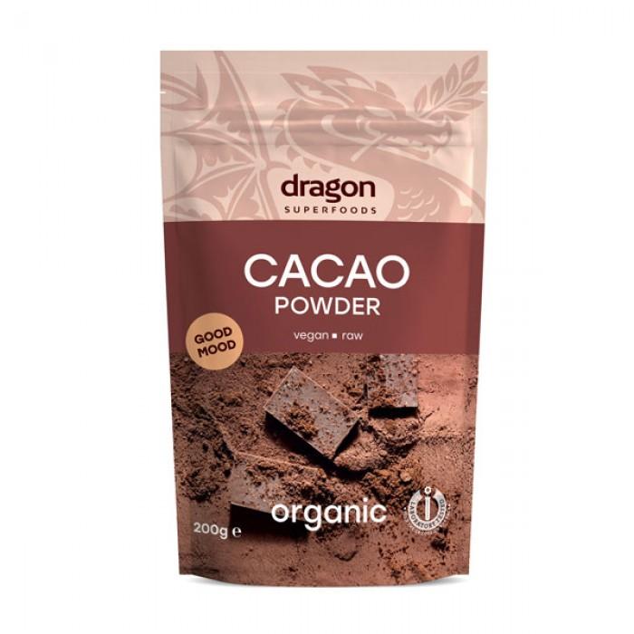 Cacao pudra raw bio (200 grame)