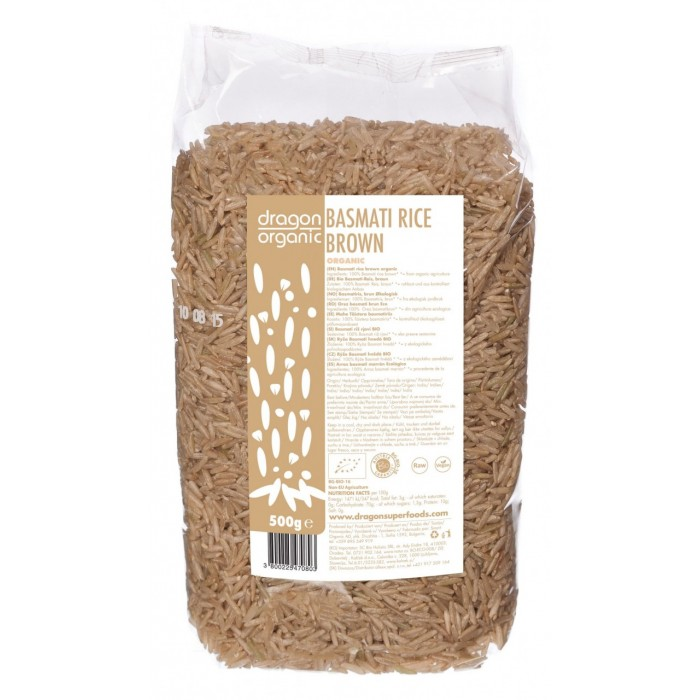 Orez basmati brun bio (500g)