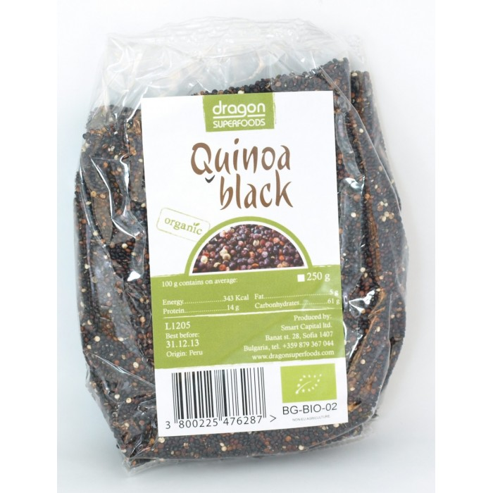 Quinoa neagra bio (250g)
