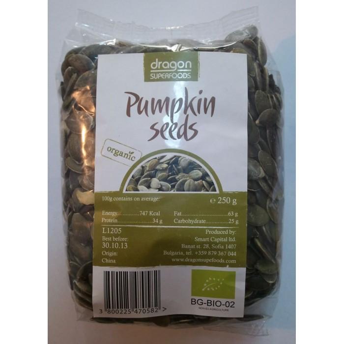 Seminte de dovleac raw bio (250g)