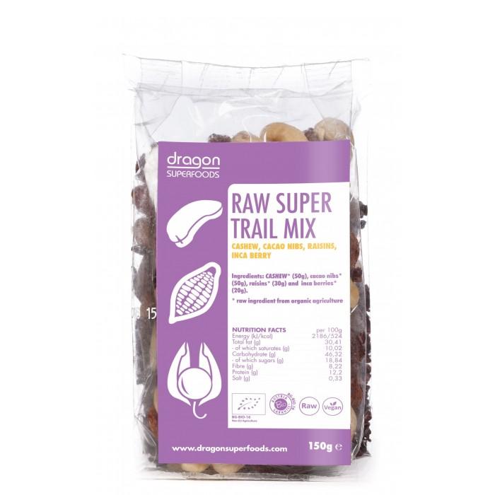 Super mix raw (incan berry, caju, miez boabe cacao) bio (150 grame)