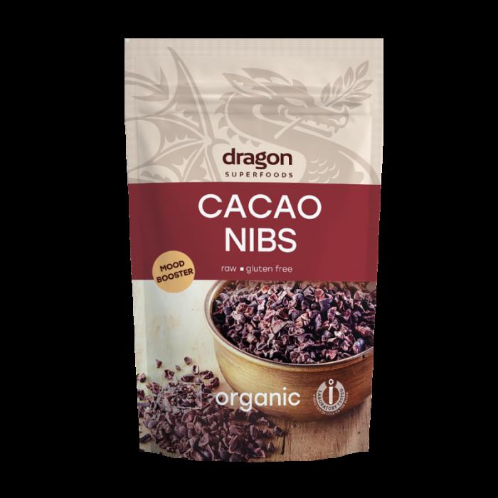 Miez din boabe de cacao criollo bio 200g
