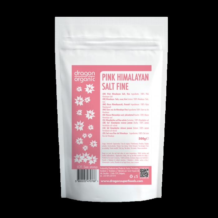 Sare roz de Himalaya fina (500g)