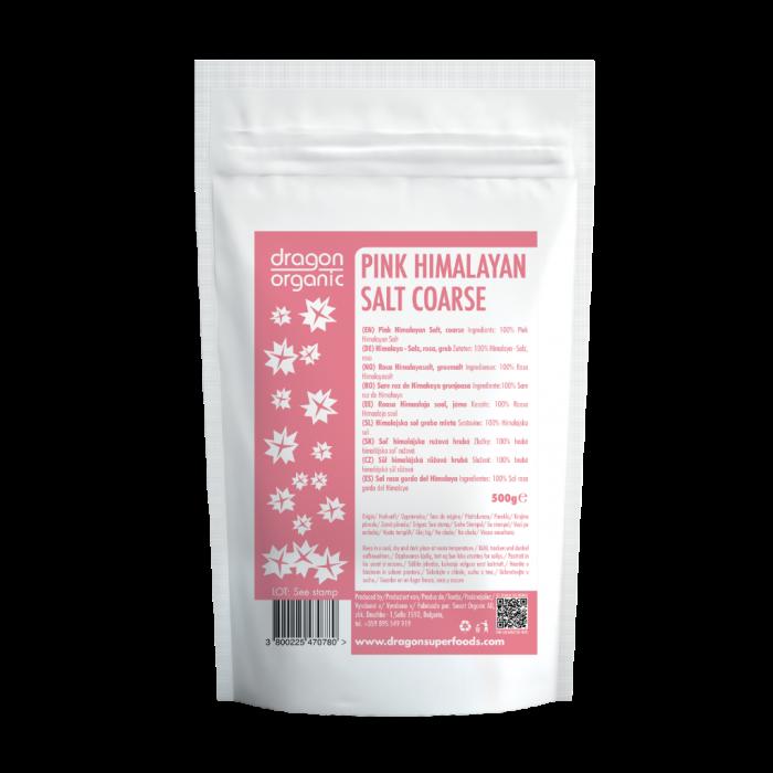 Sare roz de Himalaya grunjoasa (500g)