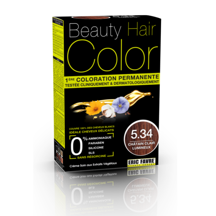 Beauty Hair - Vopsea de par 5.34 Saten deschis luminos