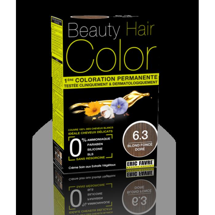 Beauty Hair - Vopsea de par 6.3 Blond inchis auriu