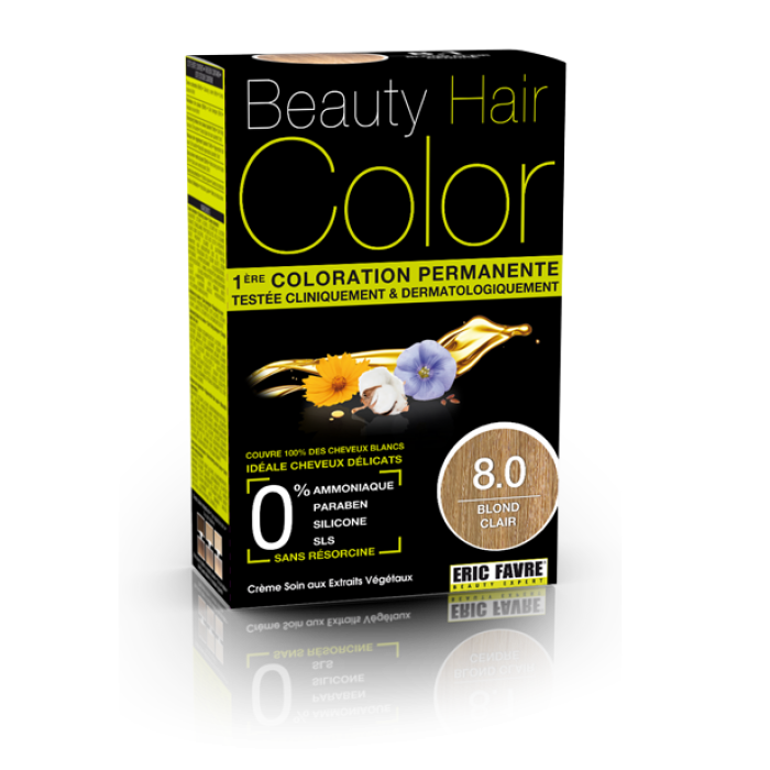 Beauty Hair - Vopsea de par 8 Blond deschis