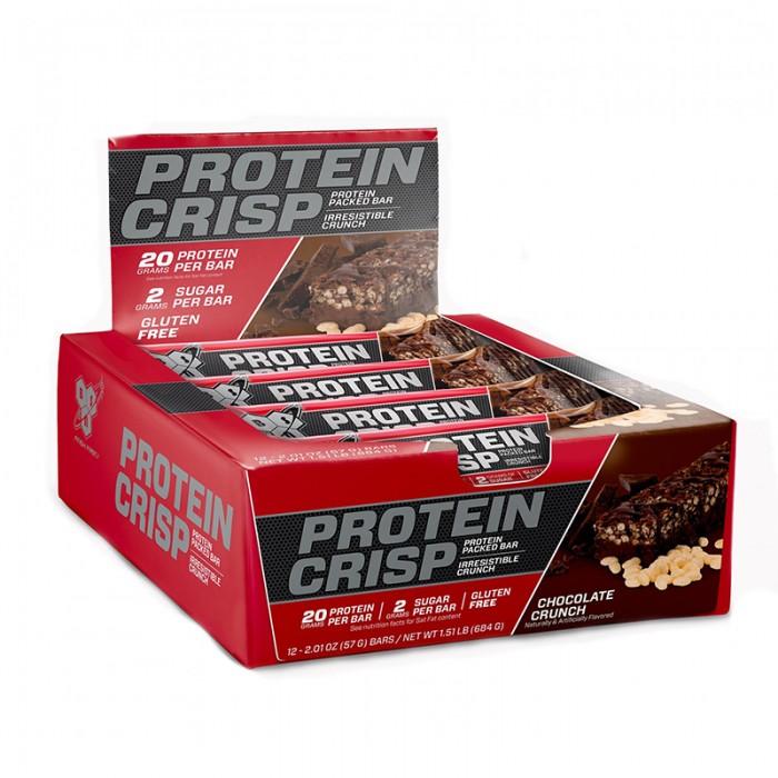 BSN Syntha-6 Baton proteic cu aroma de ciocolata crocanta (57 grame), GNC
