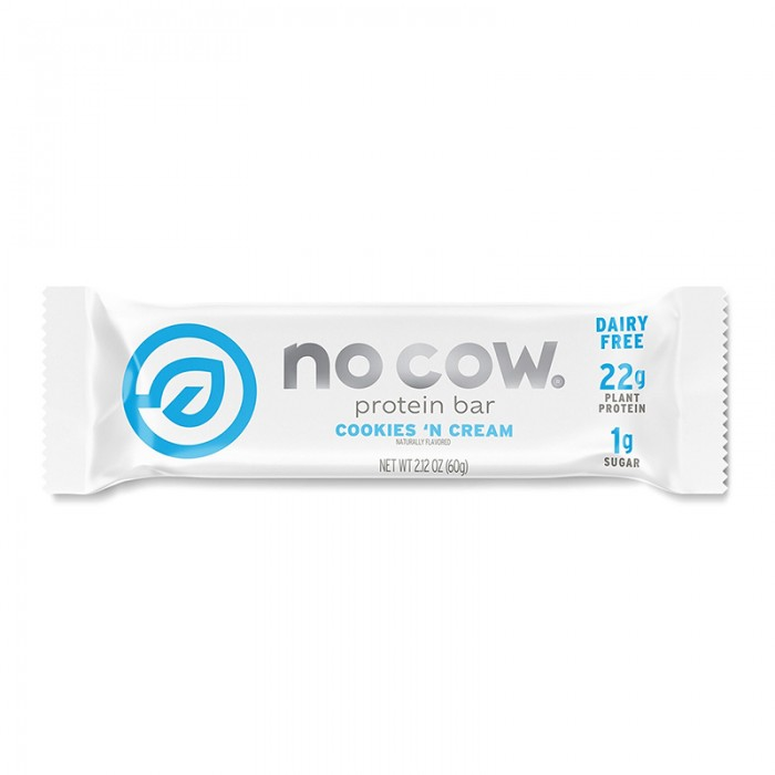 No Cow Baton proteic cu aroma de biscuiti cu frisca (60 grame), GNC