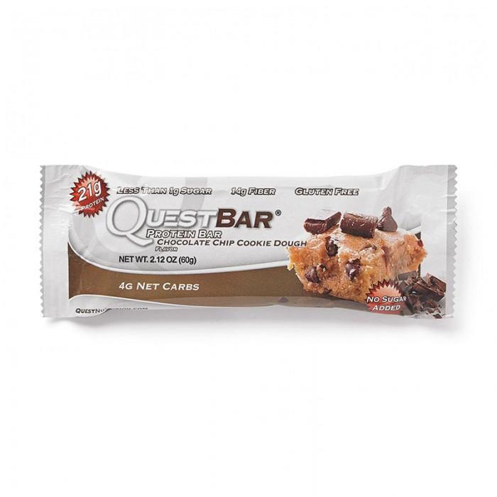 Quest Baton proteic cu fulgi de ciocolata (60 grame), GNC
