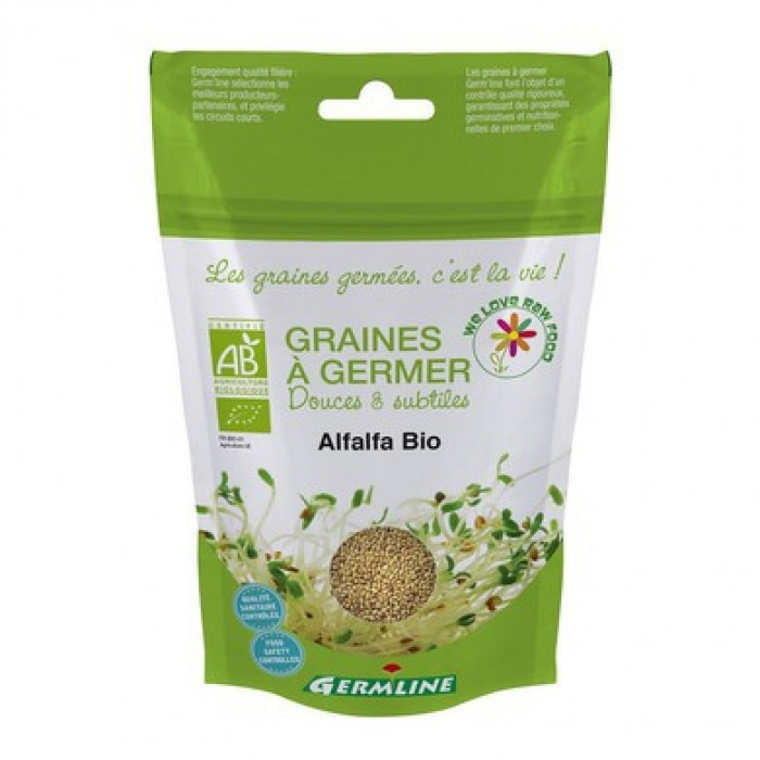 Alfalfa seminte pentru germinat bio (150g)