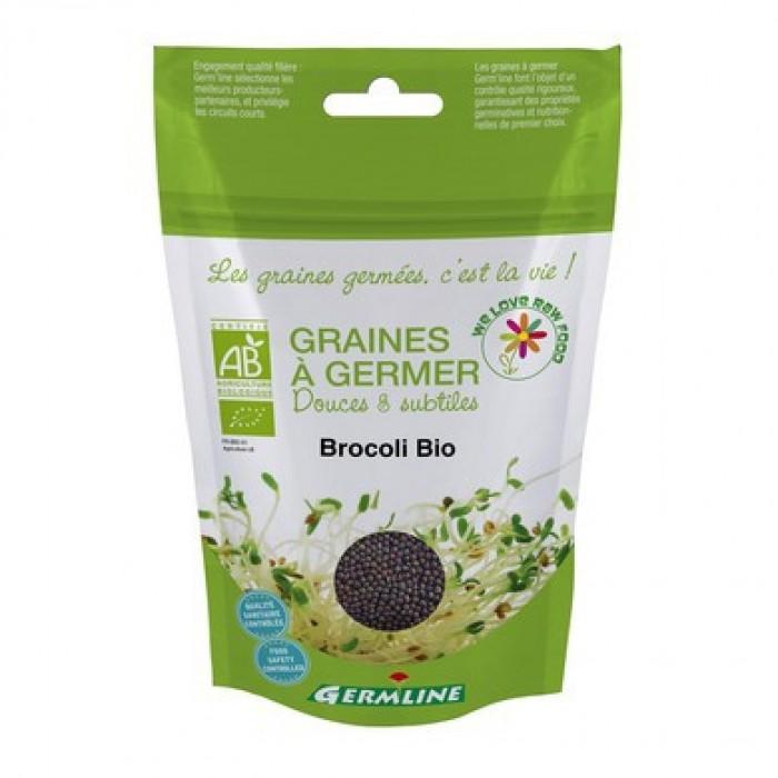 Broccoli seminte pentru germinat bio (150g)