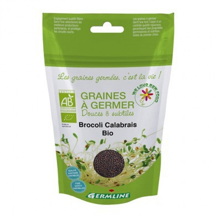Broccoli calabrese pentru germinat bio (100g)