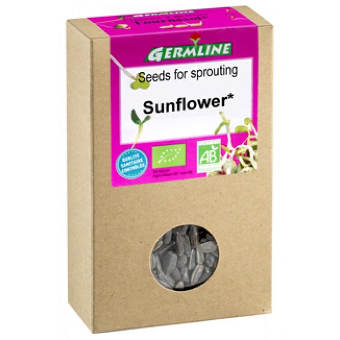 Floarea soarelui seminte pentru germinat bio (100g)