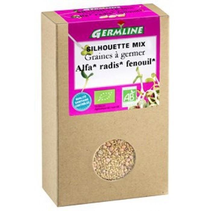 Mix alfalfa, ridiche, fenicul pentru germinat bio (150 g)