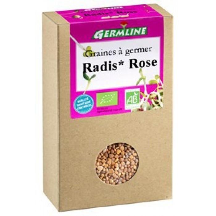 Ridiche rosie pentru germinat bio (100 g)