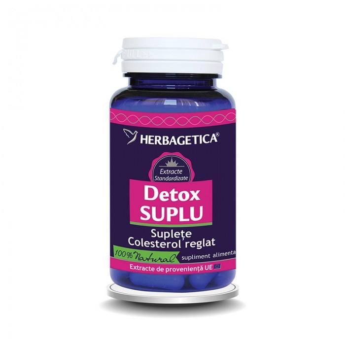 Detox Suplu (60 capsule), Herbagetica
