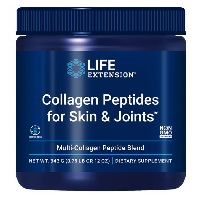 Collagen Peptides pentru piele și articulații (343 grame), LifeExtension