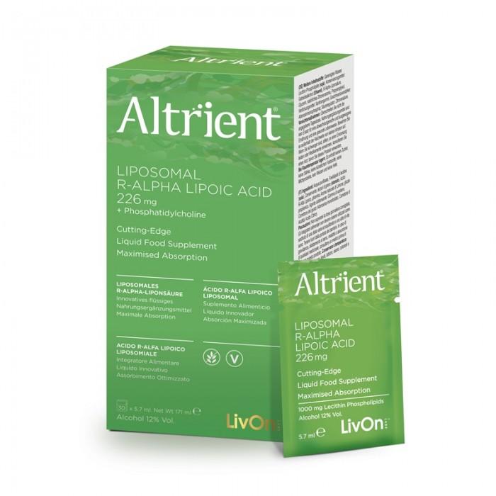 Altrient Acid R-Alpha Lipoic Liposomal (30 pliculete), LivOn Labs