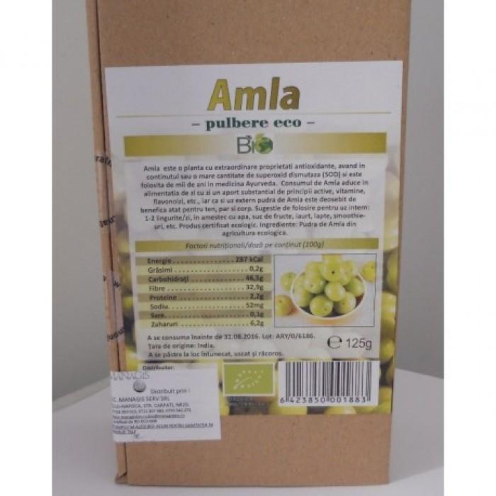 Amla pulbere bio (200g)