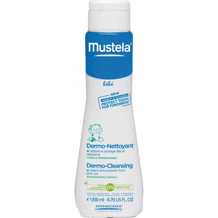 Dermo-cleansing (200ml), Mustela