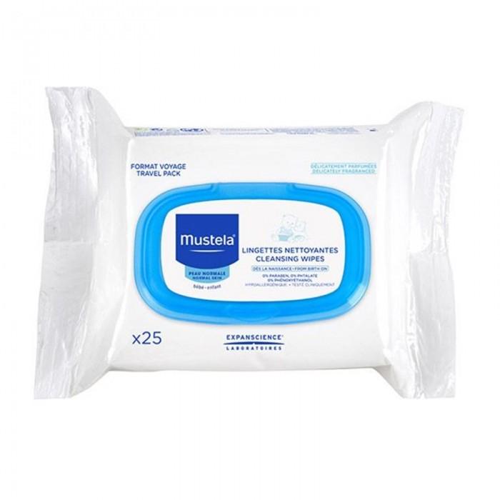 Servetele pentru curatarea fetei (25 bucati), Mustela