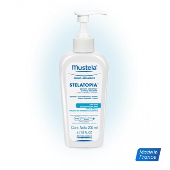 Stelatopia Gel curatator  (200 ml), Mustela