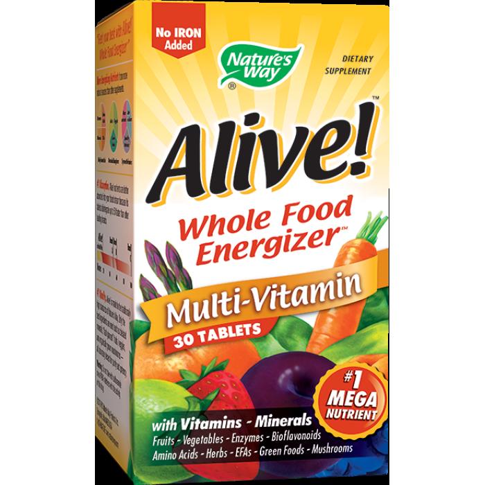 Alive (Fara Fier - 30 tablete)