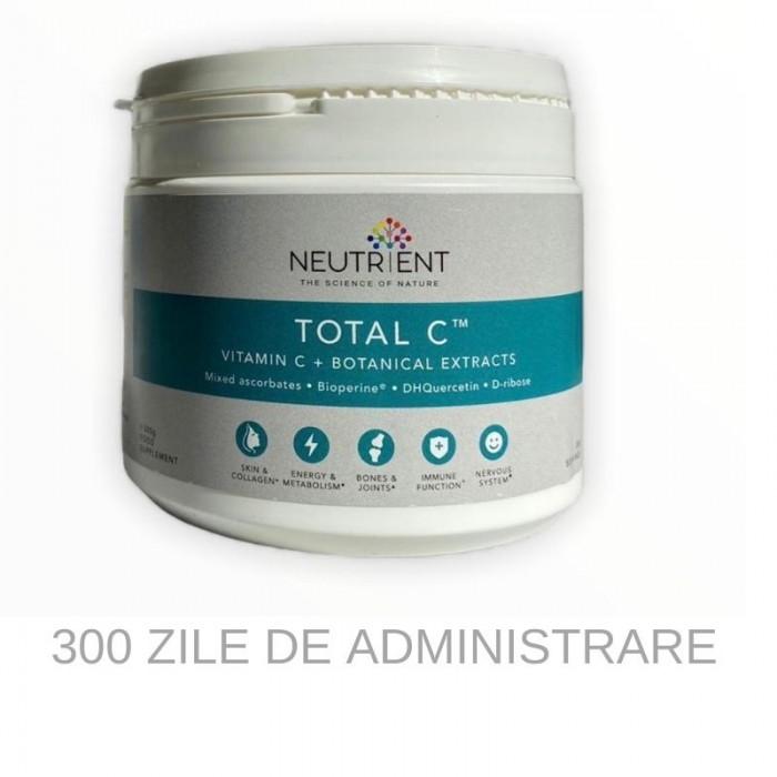 Vitamina C pulbere 1000mg - Neutrient Total C (300g)