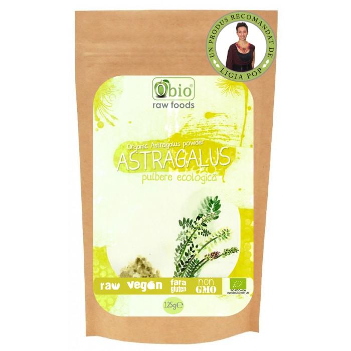 Astragalus pulbere raw bio (125 grame)