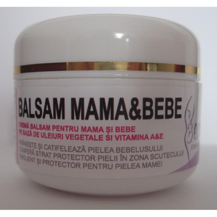 Crema balsam  pentru mama si bebe (50 ml), Beautiful Cosmetics