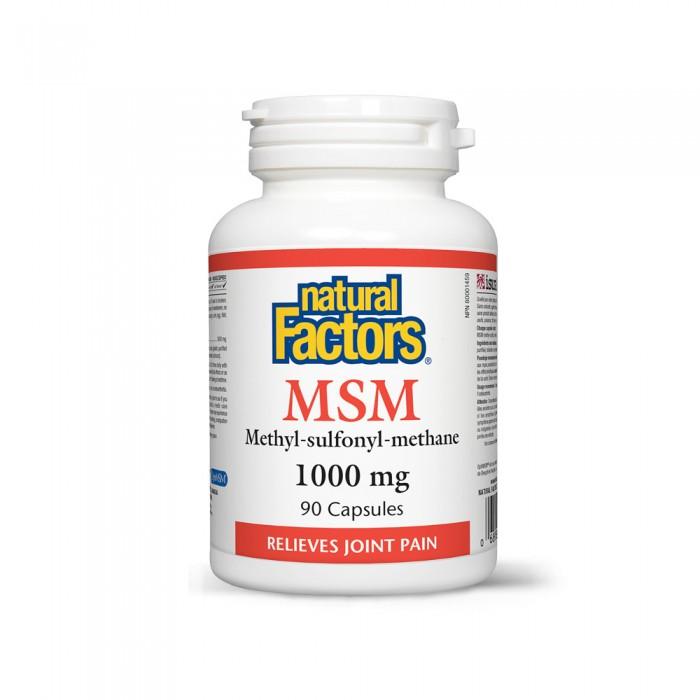 MSM 1000 mg (90 capsule), Natural Factors
