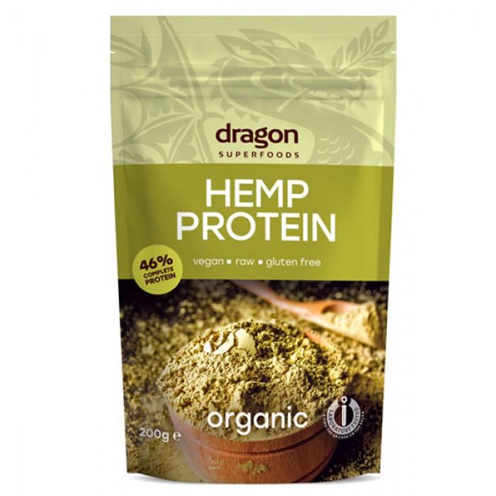 Pudra proteica din canepa raw bio (200 grame)