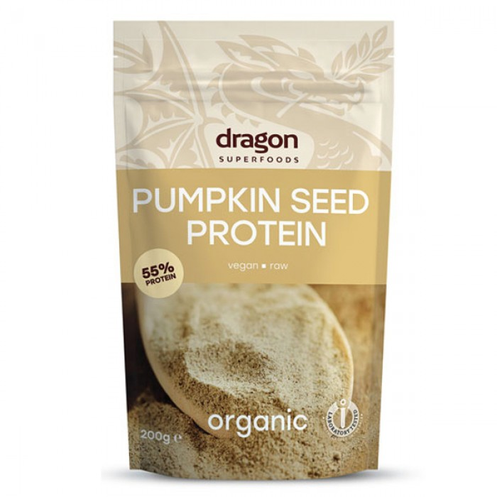 Pudra proteica din seminte de dovleac raw eco (200 grame)