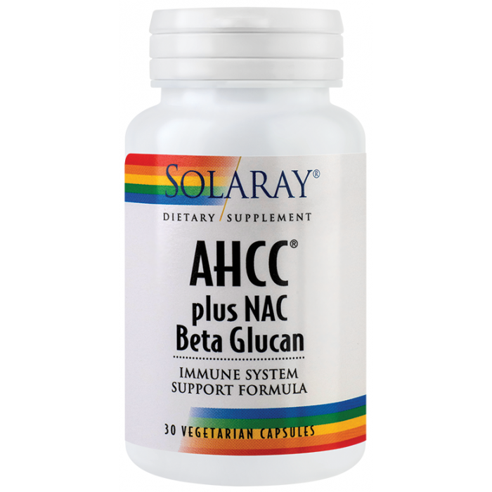 AHCC plus NAC Beta glucan (30capsule)