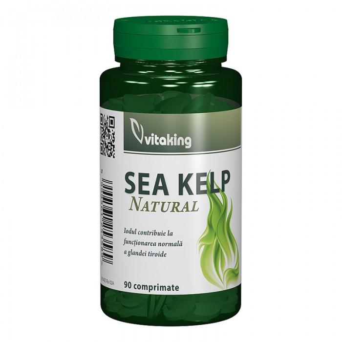 Alga Marina Sea Kelp (90 comprimate), Vitaking