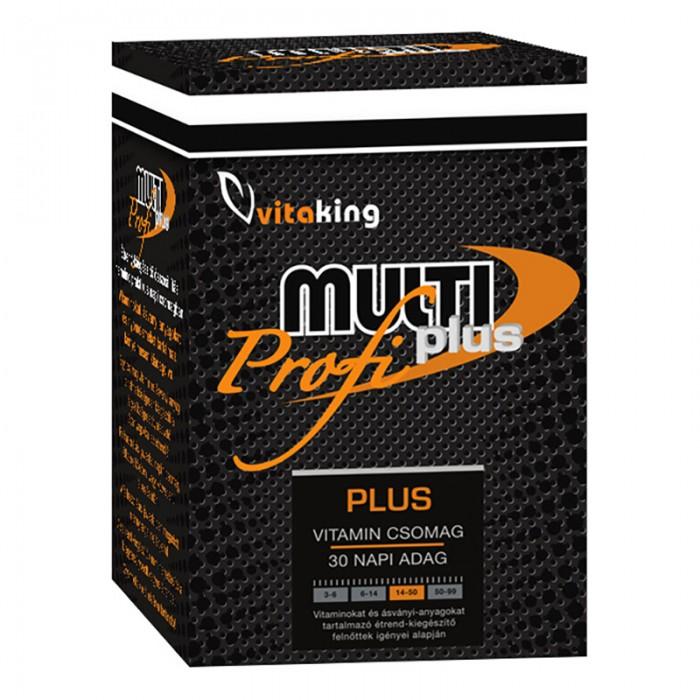 Pachet cu doze zilnice Multi Profi Plus (30 portii), Vitaking