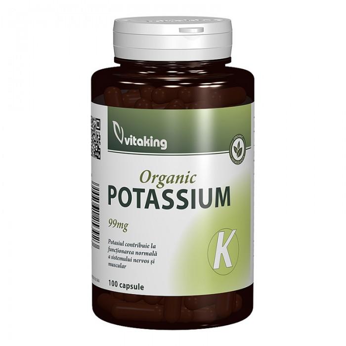 Potasiu 99 mg (100 capsule), Vitaking