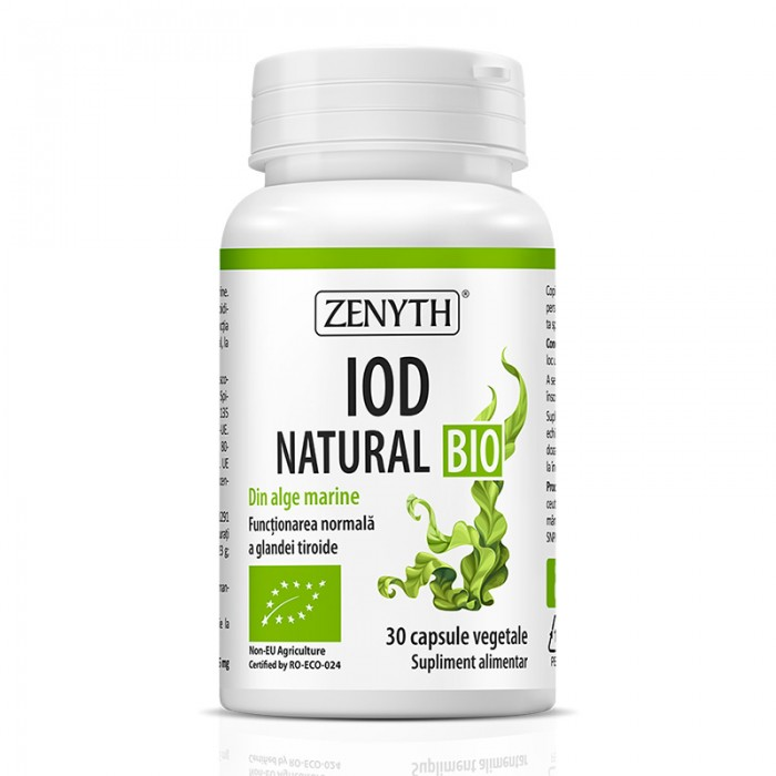Iod Natural Bio (30 capsule), Zenyth Pharmaceuticals